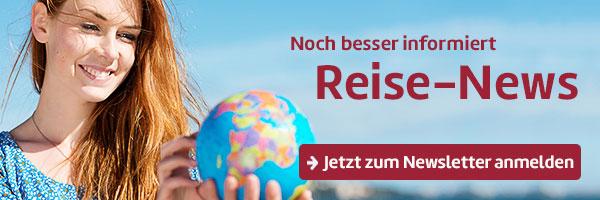 Berge & Meer Newsletter und Gewinnspiel